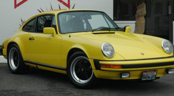 911 SC seen from the front