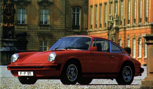A 1978 911 SC with the 'cookie-cutter' wheels.