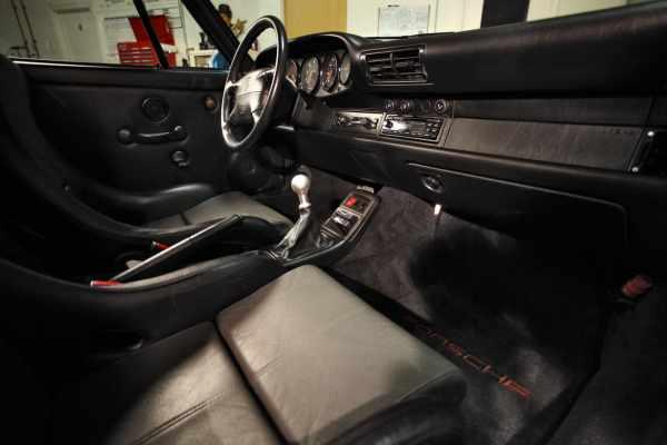 1995 911 Carrera RS interior