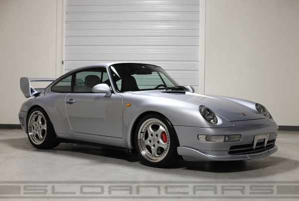 1995 911 Carrera RS with optional spoliers seen from the front
