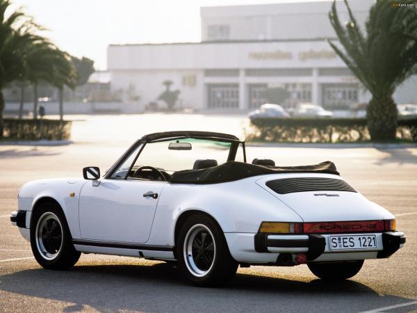 1982 Porsche 911 SC Cabrio